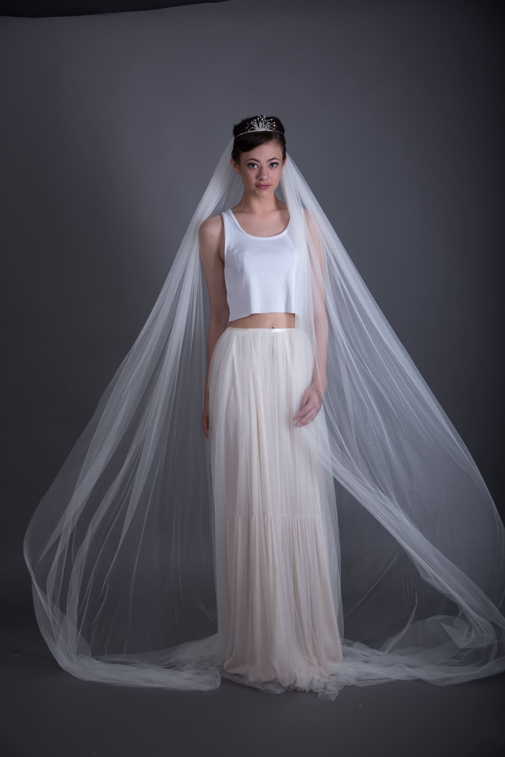Lucia Single Tier Wedding Veil